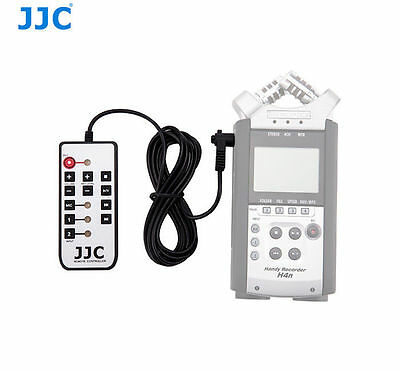 JJC Remote Commander Wired Remote Control for ZOOM H4N H4n Recorder RC4