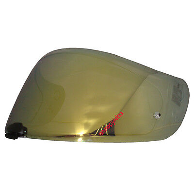 HJC Helmet Shield / Visor HJ-20M Gold Mirror For FG-17, IS-17, RPHA ST : Bike