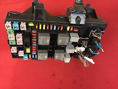 2006 06 Ford F150 F-150 Truck Interior Under Dash Fuse Relay Box 6L3T-14A067-Fa