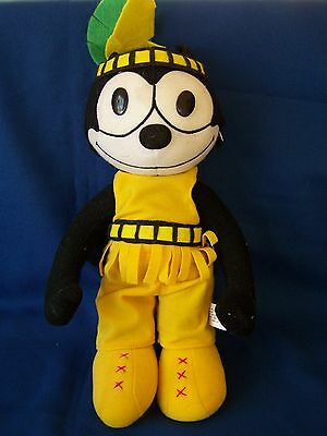 Felix the Cat Plush Doll Dressed in Native American Indian Costume 13  & Felix the Cat Animation Characters Animation Art u0026 Characters ...