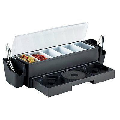 Browne Foodservice 574875 Bar Station Condiment Caddy