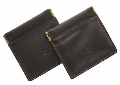 Pack of 2 Visconti Leather Snap Top Purses CP7