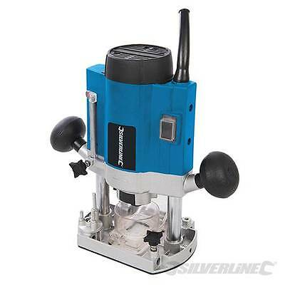 """Classic DIY 1020W Plunge Router 1/4"""" Variable Speed Control  40mm Plunge Depth"""