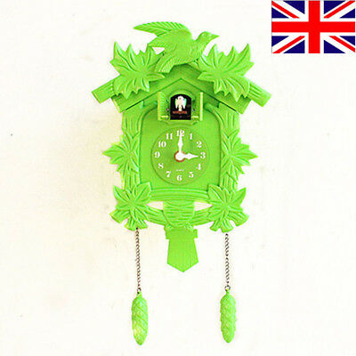 Beautiful Fashionable Wooden House Cuckoo Clock Wall Clock  Room Decorations