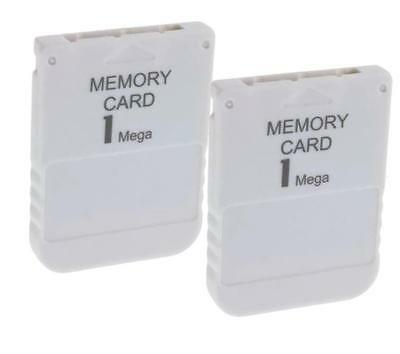 2x PS1 PS One PSX Memory Card 1MB Speicherkarte für Sony Playstation auch PS2