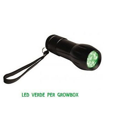 ActiveEye Lamps per Grow Box - Torcia LED Verde - Coltivazione Indoor