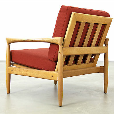 Erik Wörtz Oak Easy Chairs by Bröderna Andersson, Sweden 1960s 1960er No2