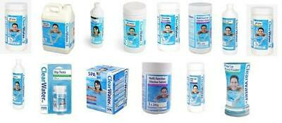 Clearwater Chemicals for Spas and Pools Chlorine PH Plus Clarifier
