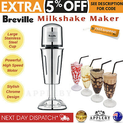 Milkshake Maker Machine Thickshake Milk Shake Frother Stainless Steel Cup