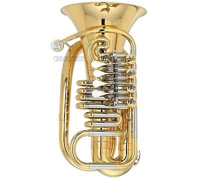 Professional MINi F TUBA 4 Rotary valve Patented product With Case