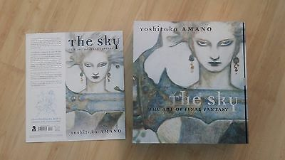The Sky: The Art of Final Fantasy by Yoshitaka Amano Dark Horse ONLY READ ONCE