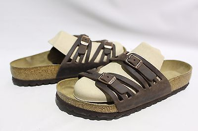 9a58a853 Birkenstock Granada Soft Footbed Women's Sandal Habana Oiled Leather Size 8  / 39