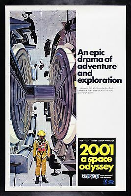 2001 A SPACE ODYSSEY ✯ CineMasterpieces ORIGINAL MOVIE POSTER STYLE C KUBRICK