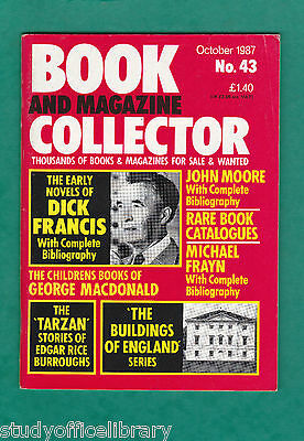 BOOK AND MAGAZINE COLLECTOR No.43 Dick Francis, Pevsner, Frayn, Catalogues