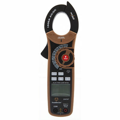 Southwire 22070T True RMS Clamp Meter 1000 Amp CAT III New sealed retail package