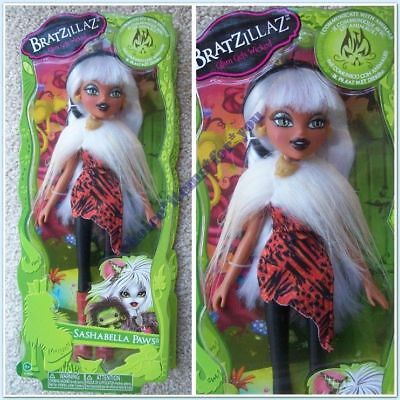 BRATZ MGA DOLL BRATZILLAZ SASHABELLA PAWS and BONUS HAIR BANDS - BNIB