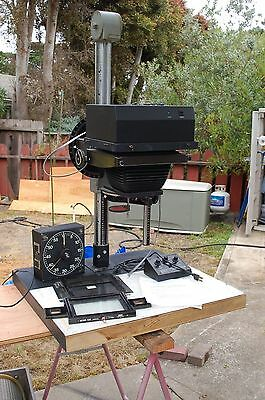 Durst Laborator 138 S  5X7 darkroom enlarger with Zone Vi cold light head