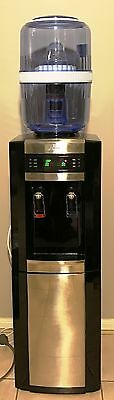 Water Cooler Dispenser Hot & Cold With Water Bottle Filter Tower Standing
