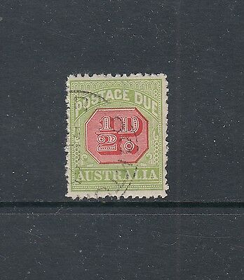 POSTAGE DUES: 1912-23 Large Crown Thin Paper ½d Perf 12½ SG D76, very fine used.