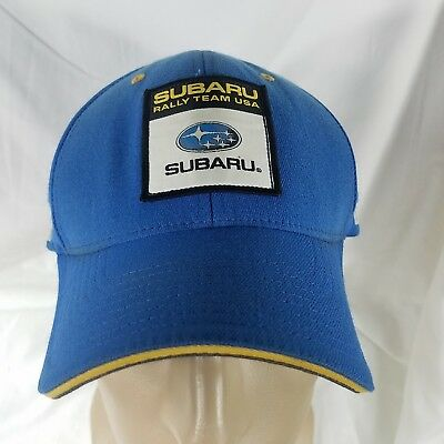 Subaru Rally team fitted hat cap large XL