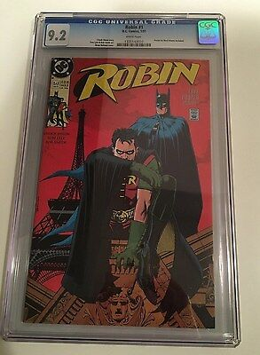 Robin #1 of 5 (Jan 1991, DC) CGC 9.2