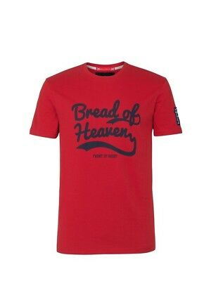 (X-Large, Z76 Red) - Front Up Rugby Men's Anthem T-Shirt. Free Delivery