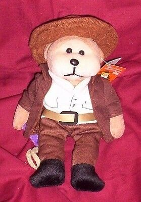 BEANIE KID Shannon the Stockman Bear  BK 588  Mint With Mint Tag