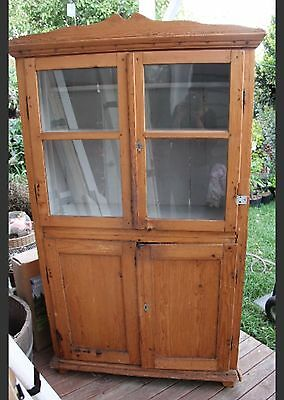 European Antique Timber Kitchen Hutch - Can Deliver