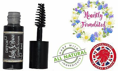 Lash Brow Growth Serum Formulated For Longer Fuller Thicker Lashes 4ML