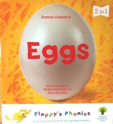 2 Titles in 1 Book | Eggs & Make a Ring Box |Floppy's Phonics|New|Fast|Free Post