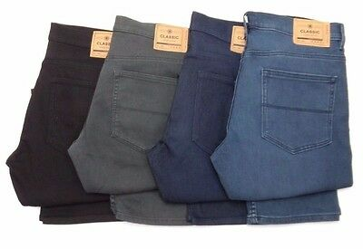 MENS Ex M&S Slim Fit Travel Stretch Jeans NEW ( Cut Label ) RRP £35  - MS33