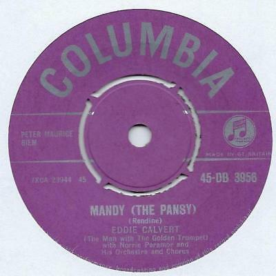 "Eddie Calvert - Mandy (The Pansy) - 7"" Single"