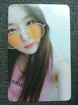 RED VELVET SEULGI #2 Official PHOTOCARD RED FLAVOR The Red Summer Album 슬기
