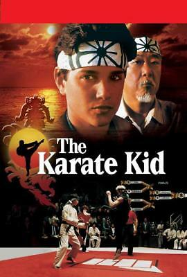 "The Karate Kid Movie POSTER 11 x 17 Ralph Macchio, Noriyuki ""Pat"" Morita, B, NEW"