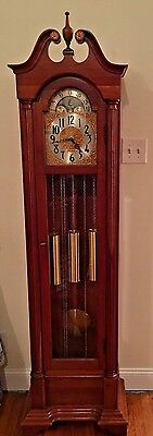 Vintage Herschede 1970s Hall (Grandfather) Clock