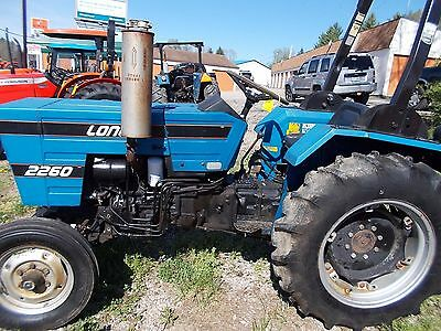 Long 2260 utility tractor, 2WD, 2-cylinder liquid cool 26 HP engine, good cond
