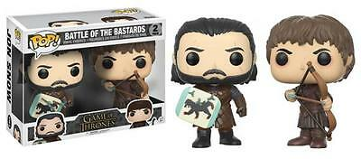 Funko Pop! Game of Thrones Battle of the Bastards Jon Snow Ramsey Pop
