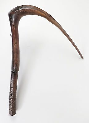 Antique Naga Cambodian rice scythe. Provenance