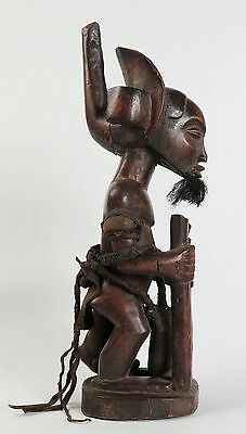 African tribal art. Chokwe figure of Chibinda Ilunga - Angola