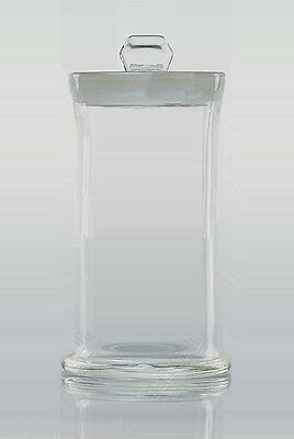 Lab  glass Apothecary Jar, Specimen Bottle storage bottle 240x120mm new