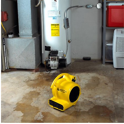 Air Mover Blower Floor Dryer Fan Industrial Carpet Walls Celling 3 Speed Yellow