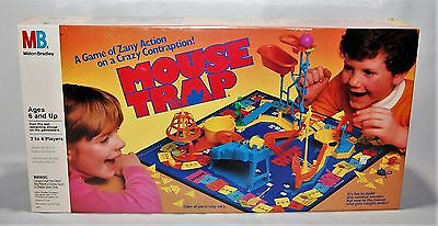 Vintage Mouse Trap Board Game - 1986 Milton Bradley - New Factory Sealed