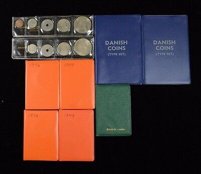 Lot of 9 Denmark MINT Coin Sets