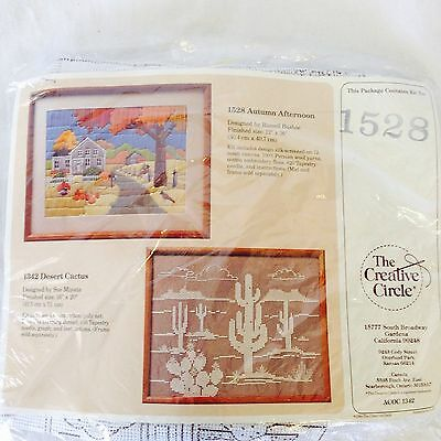 Autumn Afternoon Embroidery Kit/Pattern #1528 By The Creative Circle