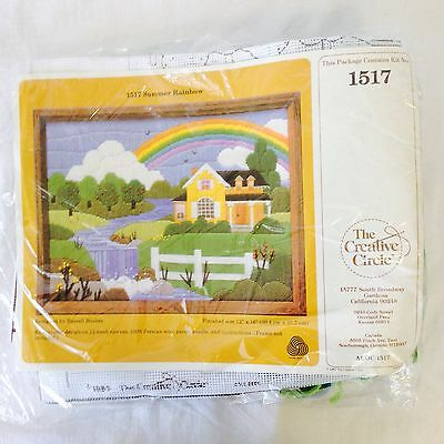 Summer Rainbow Embroidery Kit #1517 By The Creative Circle
