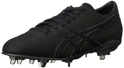 (11.5 D(M) US, Black/Black) - ASICS Men's Crossvictor LT Baseball Shoe. Brand Ne