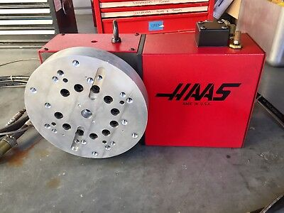 HAAS HTR210 4th Axis Rotary Table Indexer