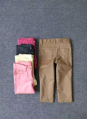 NEW Kids Girls Jeans Legging Pants Adjustable size 1.2.3.4.6.8.10.12.14