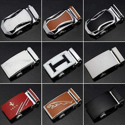 Fashion Mens Alloy Rachet Automatic Belt Buckle for 3.5cmMens Leather Belt