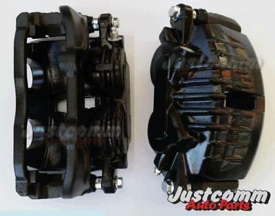 Commodore Vt Vx Vy Vz Reconditioned Front Brake Calipers - Black - New Pistons